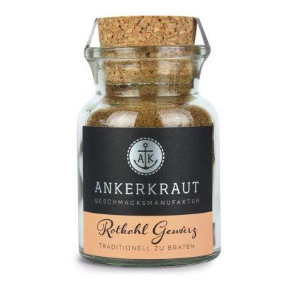 Rotkohl-Gewürz im Korkenglas von Ankerkraut