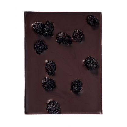 Edel-Zartbitterschokolade mit Sauerkirschen von Chocion