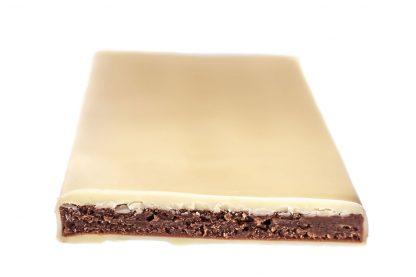 Feinste-Weiße Tafel gefüllt mit Himbeere von Chocion