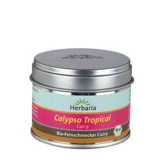 Calypso Tropical Curry 85 Gramm Weißblechdose in Bio-Qualität von Herbaria Kräuterparadies