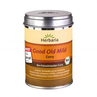 Bio-Good Old Mild Curry 80 Gramm Weißblechdose von Herbaria Kräuterparadies