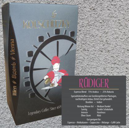 Espresso Rüdiger (ganze Bohne) 250 g