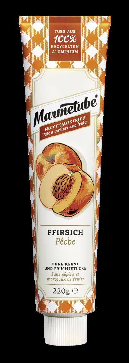 Fruchtaufstrich Pfirsich von Marmetube