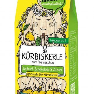 Kürbiskerle: Yoko-Lemon 80 Gramm Packung in Bio-Qualität von Ravellis