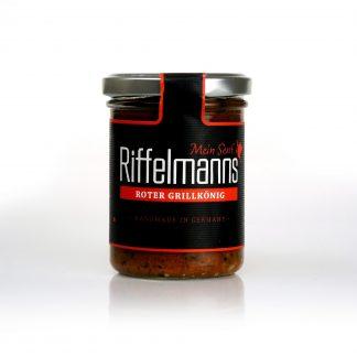Roter Grillkönig von Riffelmanns Senf