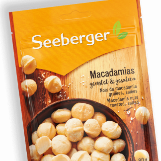 Macadamias geröstet und gesalzen von Seeberger