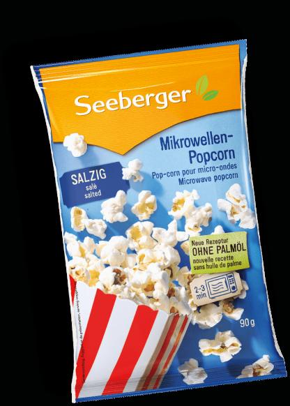 Popcorn salzig von Seeberger