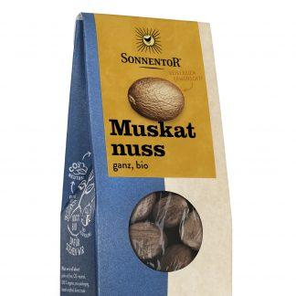 Muskatnuss ganz 25 g Packung in Bio-Qualität von Sonnentor
