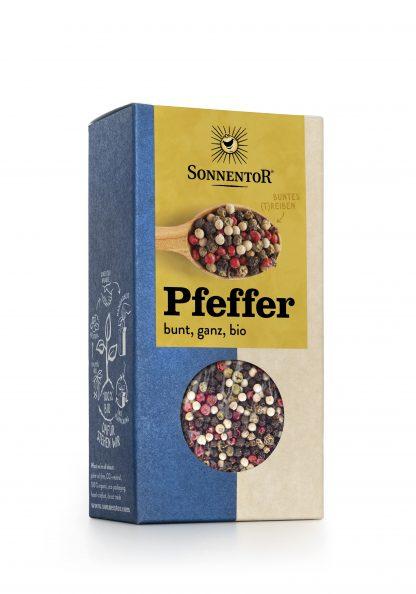 Pfeffer bunt 50 g Packung in Bio-Qualität von Sonnentor